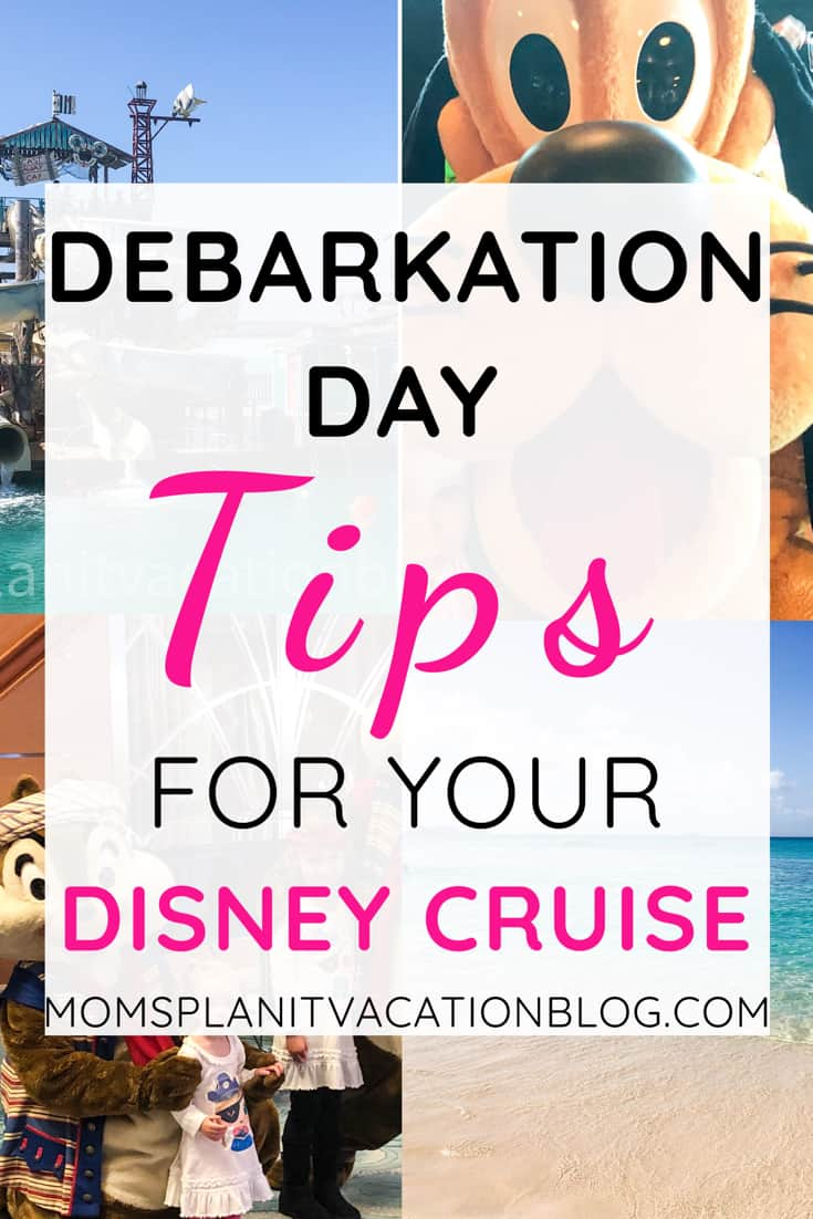 Disney Cruise Tipping And Debarkation Guide Mom S Plan It Vacation Blog